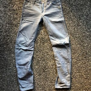 Gstar tapered wax coated jeans 30x34